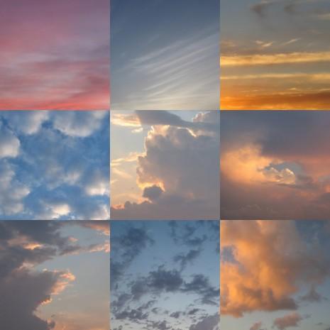 sky mosaic